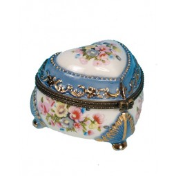 "Pill box ""spring flowers"""
