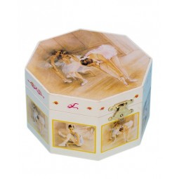 Jewelry box octagonal