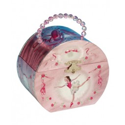 Jewelry bag ballet dancer