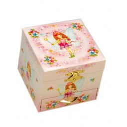 Box with fairies, 110 mm