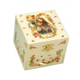 Fairy jewellery box with a drawer