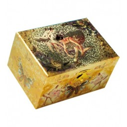 Box with ballet dancer, 150 mm