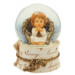 Snow globe angel, 100 mm
