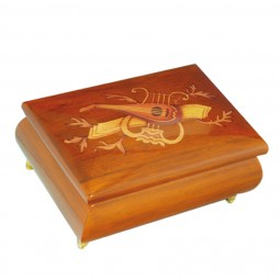 Classical jewelry box with instrument