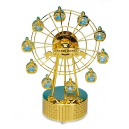 Gold-plated ferries wheel
