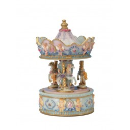 Angel carousel made of poly stone
