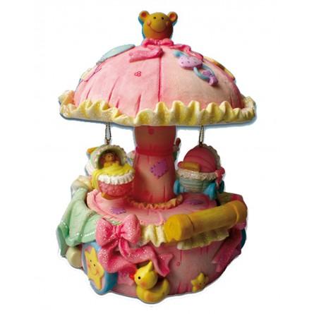 Baby pink carousel