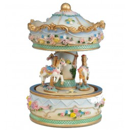 Carousel with flowers, 170 mm