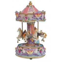 Carousel with angel, 230 mm