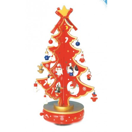 Christmas tree red 330 mm