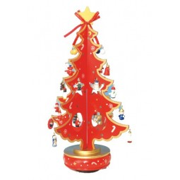 Christmas tree red 380 mm