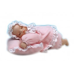Baby girl cushion