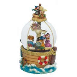 "Snow globe ""Pirate Mice"""