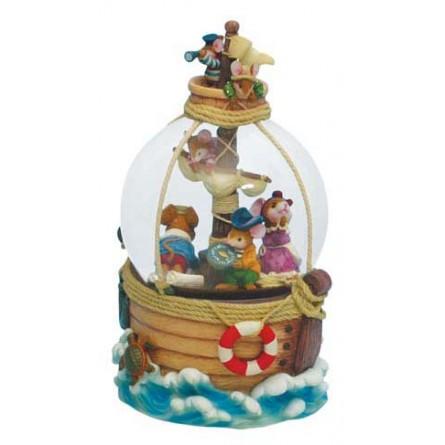 Snow globe pirates mice