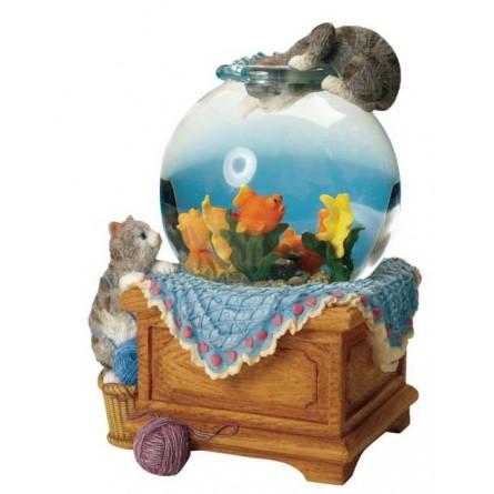 Snow globe aquarium