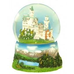 """Glitter globe """"Neuschwanstein"""","""
