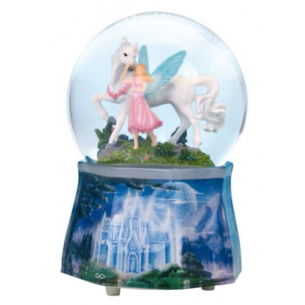 Glitter globe Unicorn