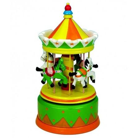 Carousel green / yellow