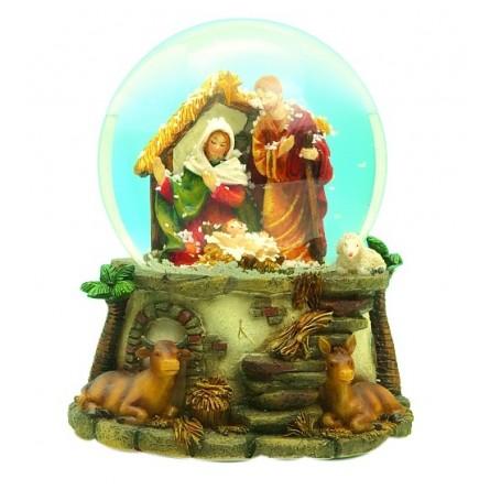 "Snow globe ""crib"""