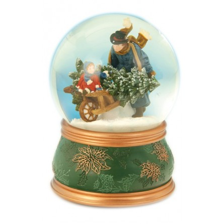 Wheelbarrow globe