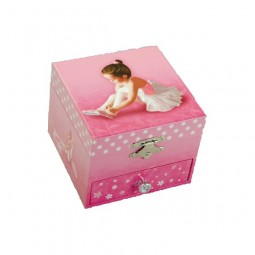 Ballerina jewelry box Swan lake