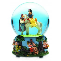 "Snow globe ""Snow white and the 7 dwarfs"""