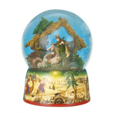 Big snow globe crib