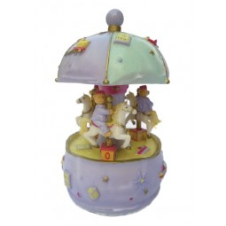 Small carousel with bears