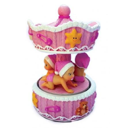 Baby girl carousel
