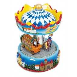 Carousel beer carriage