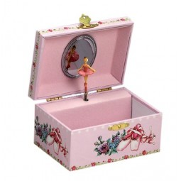 Jewelry box ballerina shoes