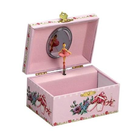 Jewelry box ballerina shoes
