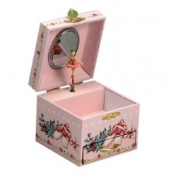 Jewelry box ballerina with drawer