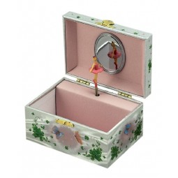 Jewelry box green fairy