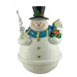 Snowman tumble