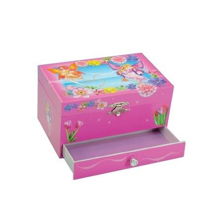 Jewelry box flower fairy