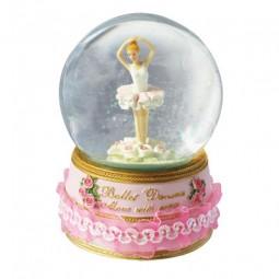 Glitter globe with ballerina