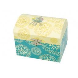 Jewelry box with Eiffel tower motif