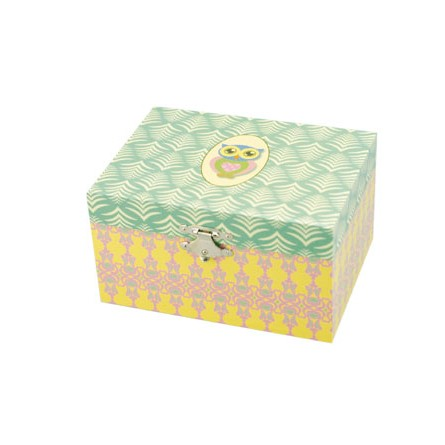 Jewelry box with owl motif