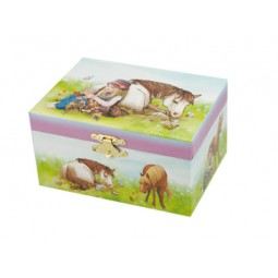 Jewelry box with horse, 150 mm