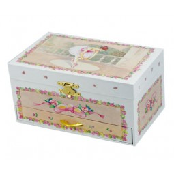 Jewelry box ballerina witha drawer