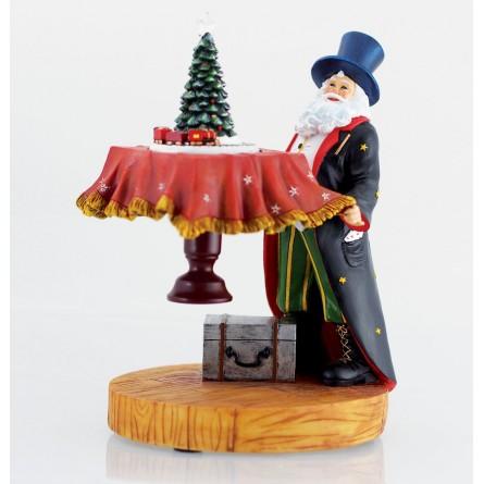 Santa as magician