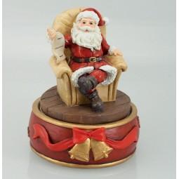 Santa in his arm chair