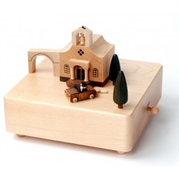 "Wooden music box ""Wedding"""