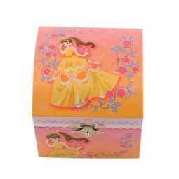 Jewelry box yellow dress, 105 mm