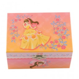 Jewelry box yellow dress, 150 mm