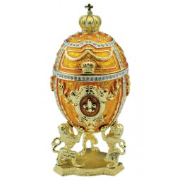 Jewelry egg in Fabergé style