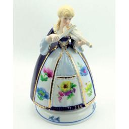 Porcelain violin player