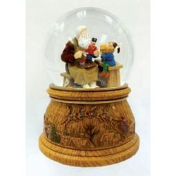 Santa and a gnome