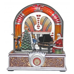 Santa's jukebox